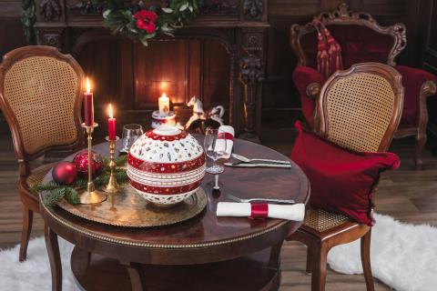 Des moments festifs de bien-être et de plaisir: diner de façon festive avec les collections de Noël de Villeroy & Boch