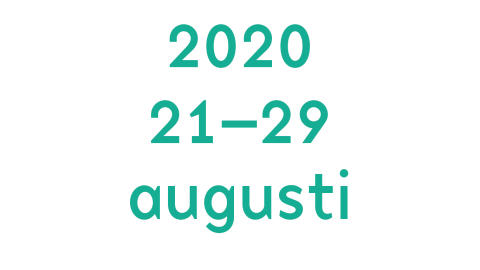 Save the date: 21–29 augusti 2020!