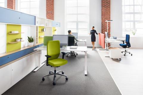 Die Zukunft des Büros: flexibel, gesund und mit  Wohlfühlatmosphäre