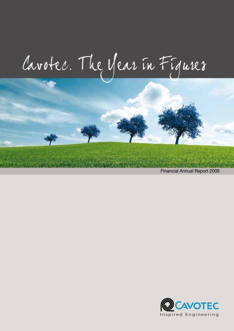 Cavotec MSL - Annual Report 2009