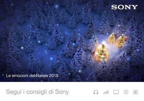 Le emozioni del Natale 2015. Segui i consigli di Sony