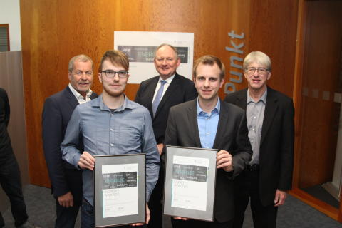 Jungakademiker der Universität Paderborn erhalten Energy Award 2019