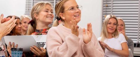 IHM firar 10 år med Yrkeshögskolan