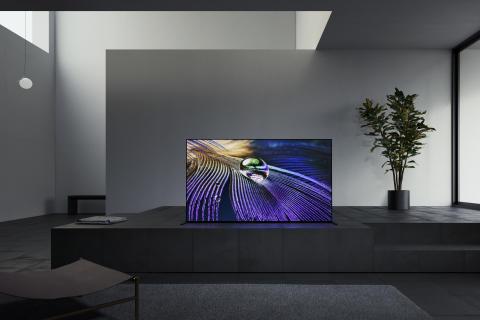 Sony BRAVIA XR A90J : le premier téléviseur à intelligence cognitive au monde sera commercialisé en avril