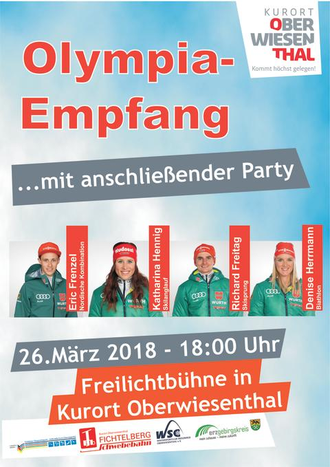 Olympia-Empfang 2018