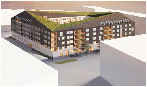 Tornstadens första projekt med MKB Fastighets AB i Malmö