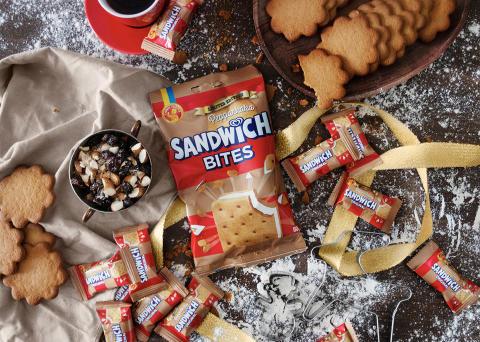 Årets Limited Edition - Sandwich Bites Pepparkaka blir nu ännu större!