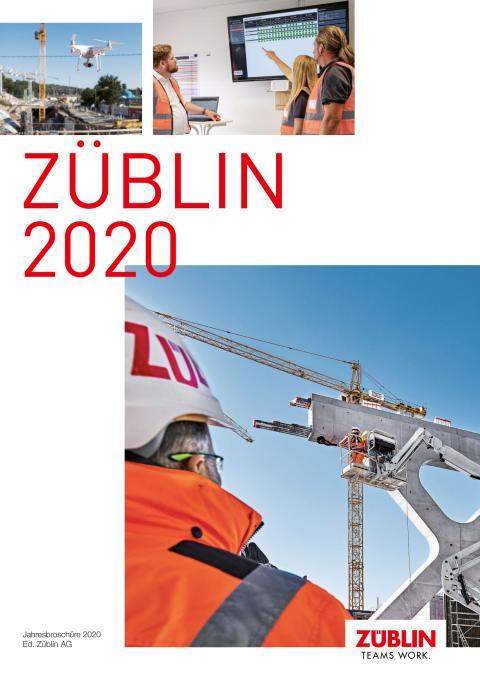 ZÜBLIN: Jahresbroschüre 2020