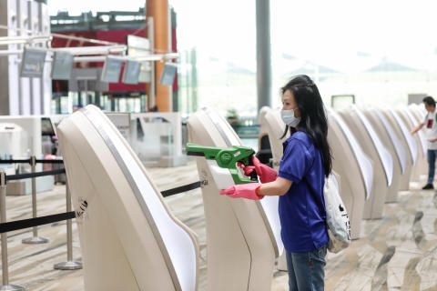 Changi Airport Group steps up precautionary measures to keep Changi Airport safe for airport staff, passengers and visitors
