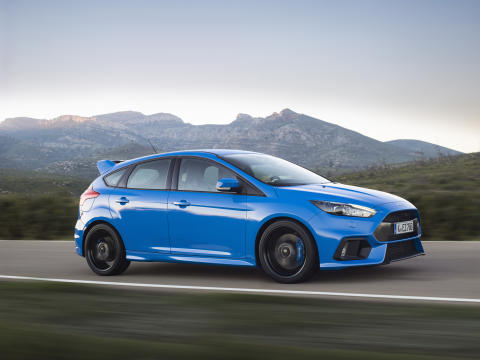 Ford Focus RS årets bil i Top Gear