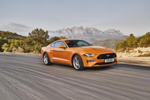 Här är bilderna på nya Ford Mustang