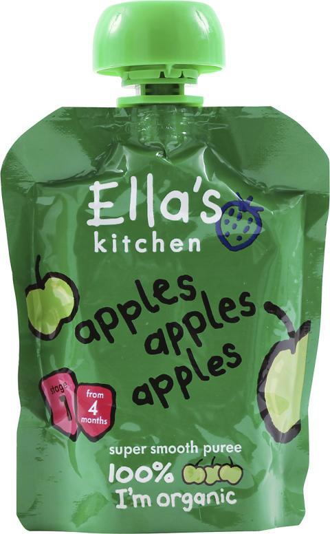 Ella's Kitchens ekologiska barnmat – perfekt för sommarens alla äventyr