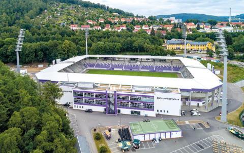 Erzgebirgsstadion in Aue wird zum Veranstaltungsort für das Musikfest Erzgebirge