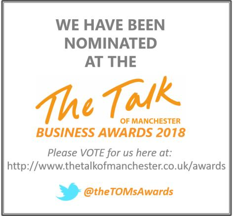 Talk of Manchester Business Awards 2018
