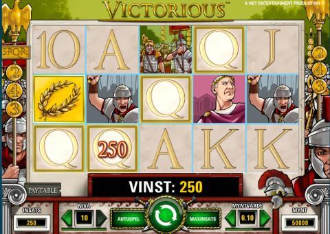 Victorious Slots - Spela Victorious Slot spel gratis
