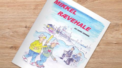 Captain publishes children's book