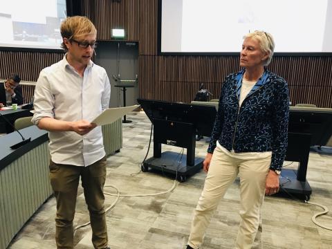 Patrik Danielsson och Katarina Hamberg
