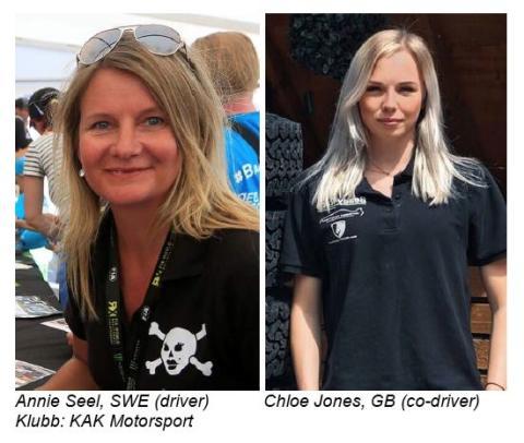 Dakarföraren Annie Seel lyfter internationell  tjejsatsning i Midnattssolsrallyt