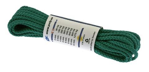 Poly-Light-8 grön, 5 mm x 10 m, bunt