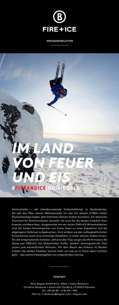 BOGNER FIRE+ICE – In the land of fire and ice