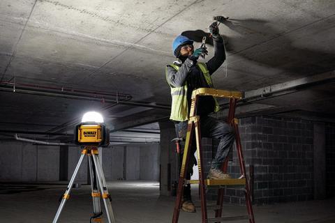 DEWALT® Brightens Jobsites with 20V MAX* Tool Connect™ All-Purpose Light