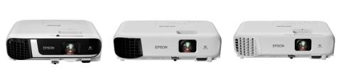 Epson redefined minimum resolution standards with its new range of E10 business projectors