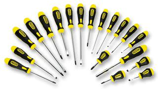 Get the Job Done Fast & Easy with  STANLEY® Screwdrivers