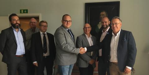 Avtal om försäljning av biogasöverskott till Sandvik