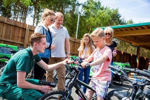 Center Parcs Woburn Forest welcomes its 100,000th guest