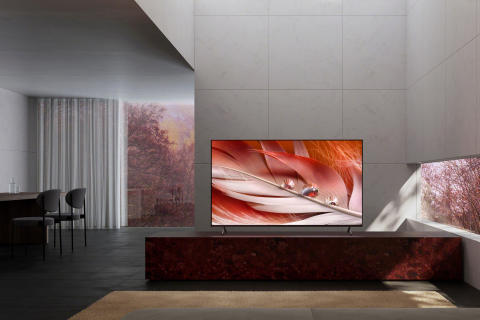 Sony BRAVIA XR X90J Full Array LED-TV med kognitiv intelligens er snart tilgjengelig for forhåndsbestilling