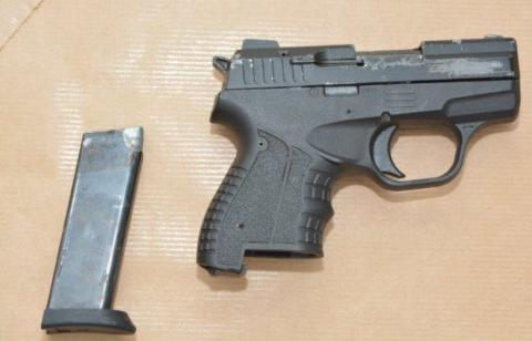 Image of recovered firearm