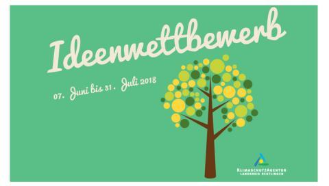 Ideenwettbewerb der KlimaschutzAgentur im Landkreis Reutlingen