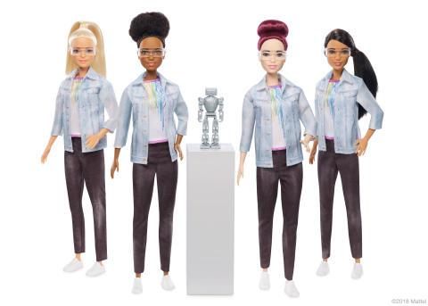 Barbie macht jetzt Karriere im MINT-Bereich