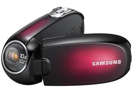 Samsung tar nya grepp om digitala videokameror