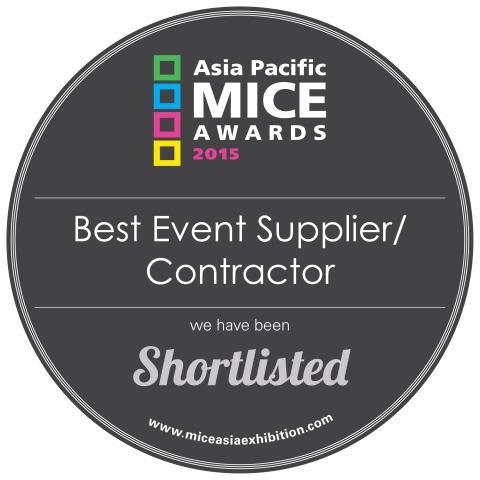 HBM has been shortlisted in the Best Event Supplier category at the Asia Pacific MICE Awards 2015