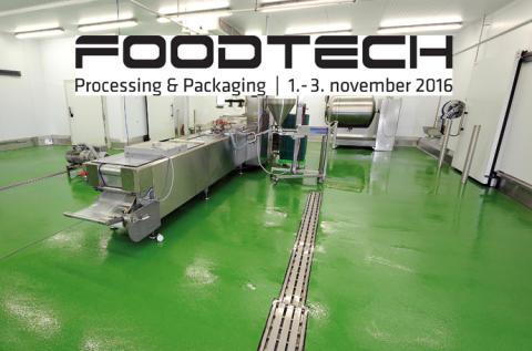 Flowcrete er på FoodTech 2016 - meget mere end en messe
