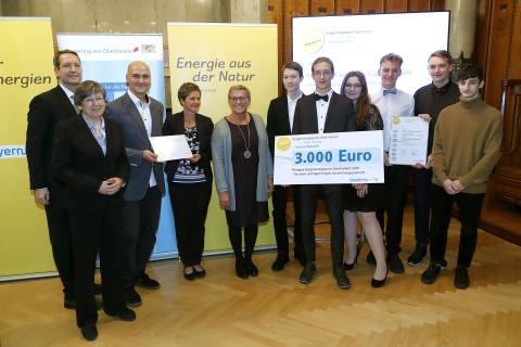 Bürgerenergiepreis Oberfranken_2019_Preisträger_FOS Forchheim