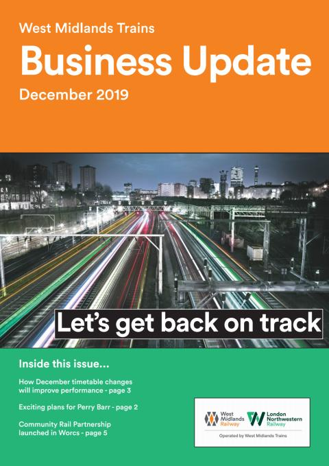 West Midlands Trains Business Update - December 2019