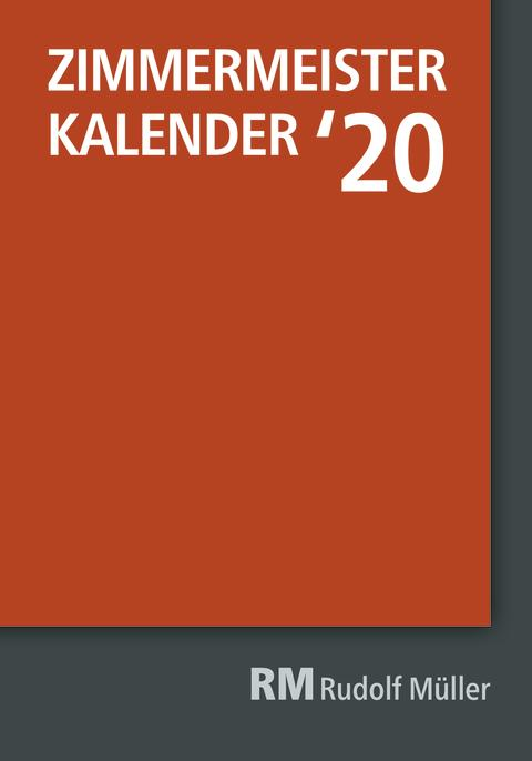 Zimmermeister Kalender `20 (2D/tif)
