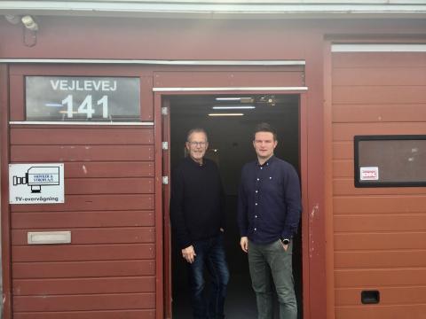 Lokalerne til FødevareBankens nye afdeling i Kolding er i hus