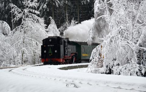 Bimmelbahn & Lichterglanz - im Weihnachtsland Erzgebirge entsteht der erste befahrbare Weihnachtsmarkt