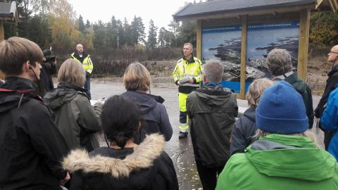 A week in Östhammar with a focus on the environment