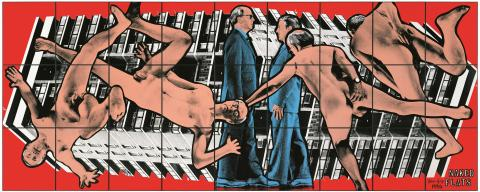 Gilbert & George, NAKED FLATS, 1994