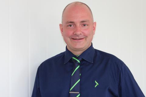 Kristian Hjelbak - varehussjef for Elkjøp Megastore Skien