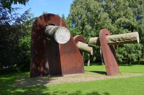 Denkmal zum Matrosenaufstand 1918 (Stahl, Granit