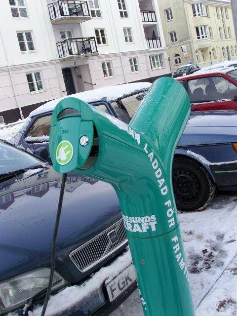 EU-pengar till Helsingborg och Öresundskraft för fortsatt elbilssatsning