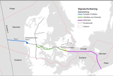 Miljøvurdering af Baltic Pipe projektet sendes i høring