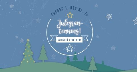 Julegrantenning på Kringsjå Studentby / Christmas Tree Lighting at Kringsjå Student