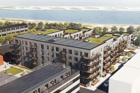 AG Gruppen sælger unikt Strandvejsprojekt til ejendomsinvesteringsselskabet PATRIZIA.