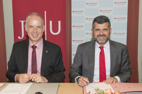 Johannes Gutenberg-Universität Mainz und Santander vereinbaren Kooperation